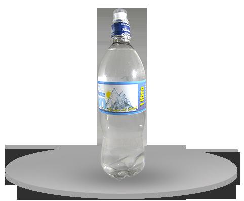 Agua en Botella Pet 1LT